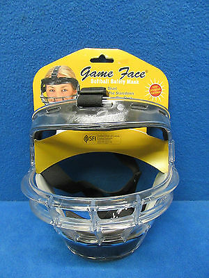 """*NEW* Game Face Adult Softball Safety Mask Size Large 22"""" & Larger"""