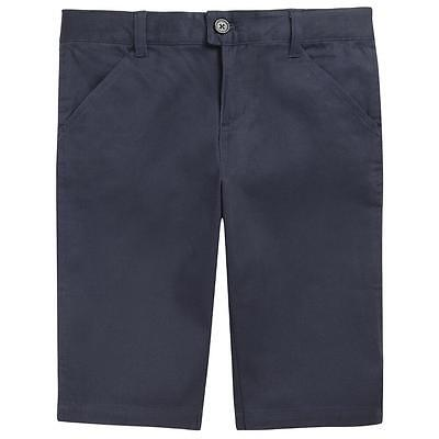 Girls ASW Approved School Wear Bermuda Shorts Navy Blue 12 Easy Care New NWT