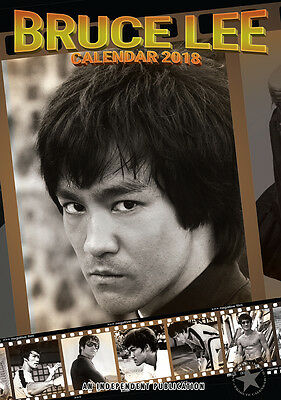 calendrier BRUCE LEE 2018