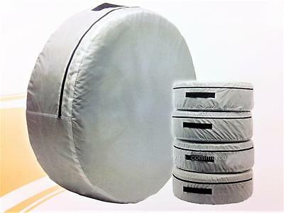 """Spare Wheel Storage Carry Tyre Bag Protection Cover Storage Space Saver 15""""16""""17"""