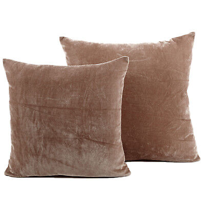 Luxury Mink Velvet Cushions - Soft Modern Scatter Large & Small Cushion Covers