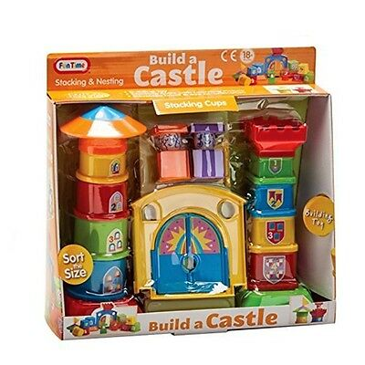 Fun Time Build A Castle Toy (multi-colour) - Multicolour