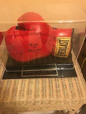 Autographed Glove By Muhammed Ali