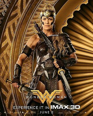 2017 Wonder Woman Antiope Movie Poster A3 Print