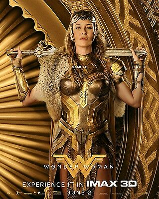2017 Wonder Woman Hippolyta Movie Poster A3 Print