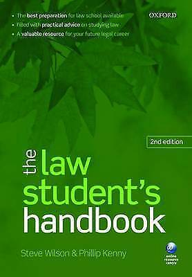 The Law Student's Handbook by Steve Wilson, Phillip H. Kenny, 2/ed (Paperback)