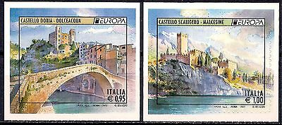 Italy 2017 Castles Old Bridge Building Architecture Heritage History Europa MNH