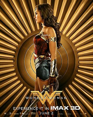 New Wonder Woman Movie Poster A3 Print