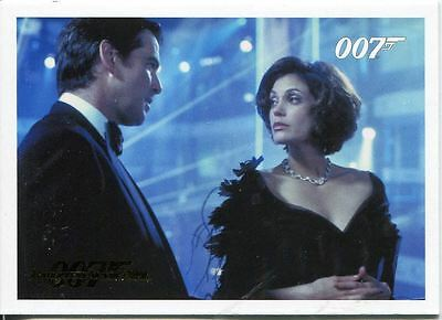 James Bond Archives 2014 Tomorrow Never Dies Gold Parallel #22