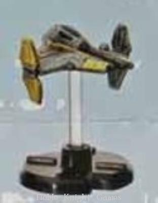WOTC Star Wars Minis Starship Battles Anakin Skywalker's Jedi Interceptor SW