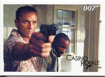 James Bond Archives 2014 Casino Royale Gold Parallel Base Card #12