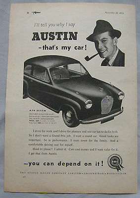 1953 Austin Original advert No.2