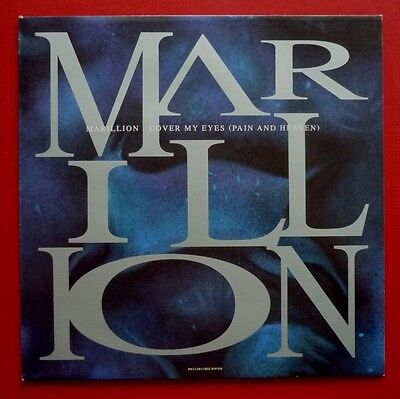 "MARILLION - Cover My Eyes (Pain And Heaven) (1991 3 trk 12"" + POSTER) Fish"