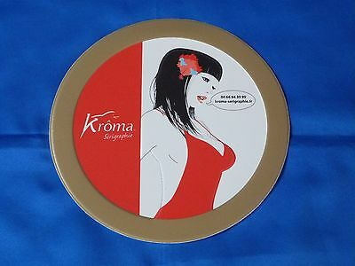 "Plaque métal ""PIN UP"" Kroma"