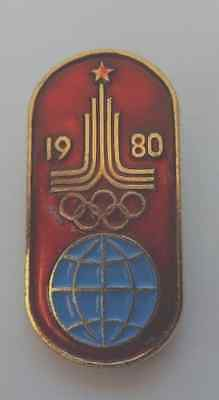 Moscow Olympics 1980 Russian Badge