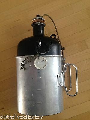 Swiss swiss Army canteen MZ 1954 with cup MEWA 1963