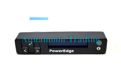 NEW DELL PowerEdge R410 PowerVault NX300 Server LCD Screen Power Button 1DGVV