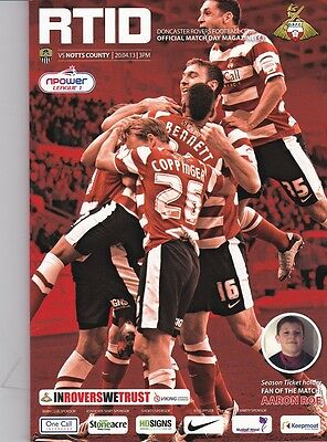 Doncaster Rovers v Notts County (npower League 1) 20.04.2013