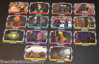 Topps MARVEL MISSIONS Trading Card Game - DOCTOR STRANGE Movie cards