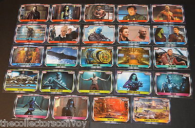 Topps MARVEL MISSIONS Trading Card Game - GUARDIANS OF THE GALAXY Movie cards