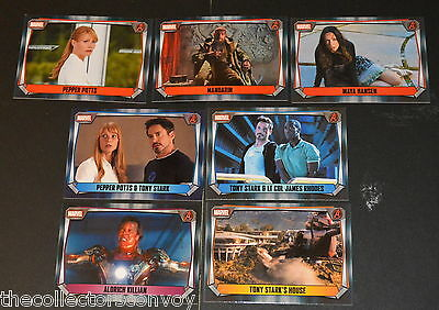 Topps MARVEL MISSIONS Trading Card Game - IRON MAN 3 Movie cards