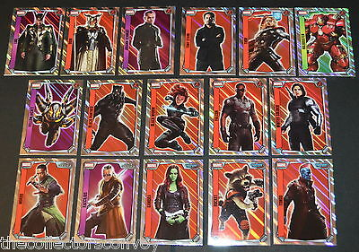 Topps MARVEL MISSIONS Trading Card Game - Holographic Foil Cards (241-256)