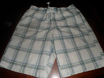 Boy's 2 Pair Op Swim Trunks**6/7 And 4/5**multi Color**great Condition