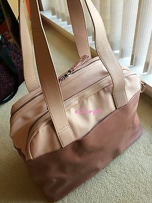 Lululemon Sweat & Go Bag Duffel Tote Bark Berry Naked