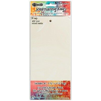 Dyan Reaveley's Dylusions Journal Tags 10/Pkg - Media Paper #10