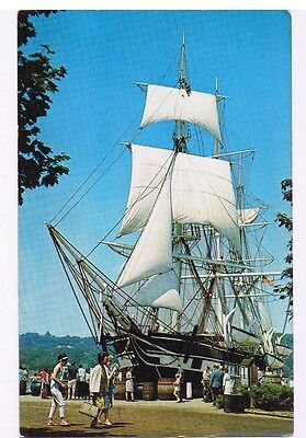 The Last Of The Old Whalers Whaleship New Bedford Connecticut  Postcard  # 29046