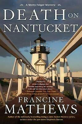 Death On Nantucket by Francine Mathews Hardcover Book Free Shipping!