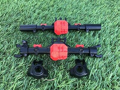 Used Axial 1/10 SCX10 ii 2 Plastic Diff Housing Front And Rear No Gears OZRC