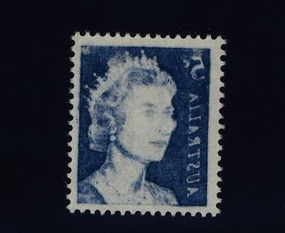 Australia Stamps 1966 5c Blue QEII with stunning Offset - MNH