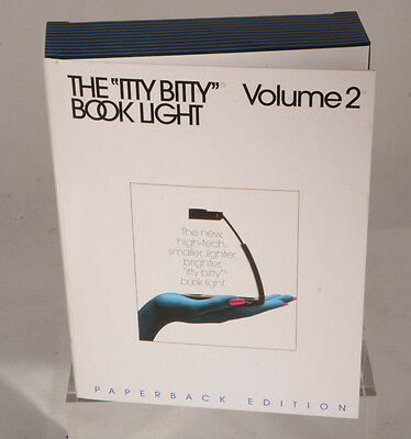 New Zelco Itty Bitty Book Light Volume 2 Paperback Edition Reading Light