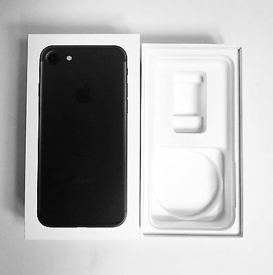 Genuine box for  iPhone 7 128gb Black BOX ONLY. No Phone.