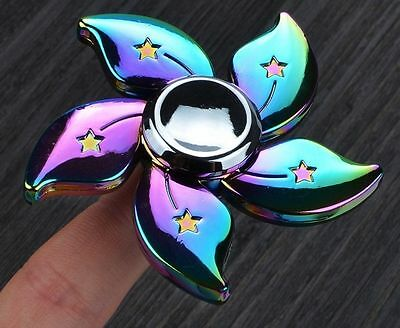 3D Fidget Hand Finger Spinner EDC Flower Toys Stress Reliever Adults Kids AU
