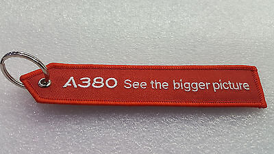 Airbus  A380 Key Chain / Tag. See The Bigger Picture.