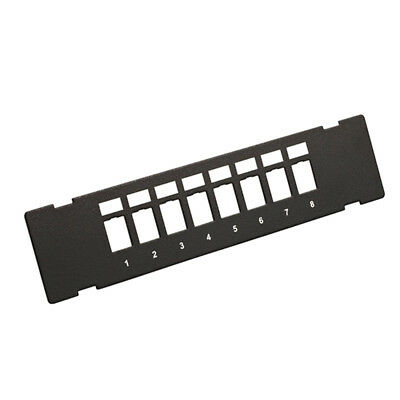 8 Port Unloaded Wall Mount Patch Panel