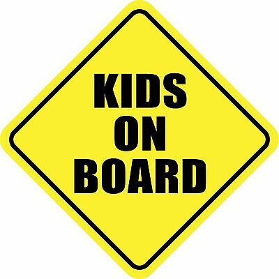KIDS ON BOARD Magnet Made in the USA Buy 2, Get 3rd FREE