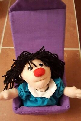 1997 Big Comfy Couch Molly Jack In The Box Plush Loonette's friend RETIRED Cute