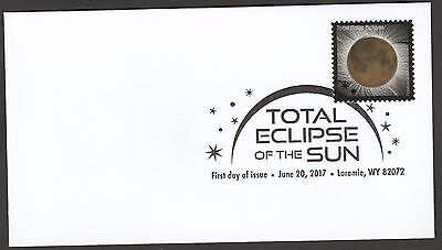 US 5211 Total Eclipse of the Sun FDC 2017