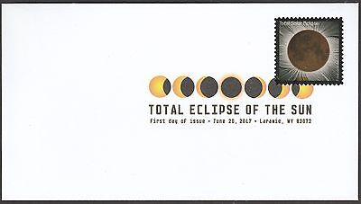 US 5211 Total Eclipse of the Sun DCP FDC 2017