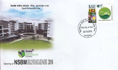Special Commemorative Cover : Openning Of NSBM Green University Town
