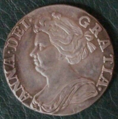 1707 Anne Sixpence,  Copy.  (FREE UK POSTAGE AVAILABLE)