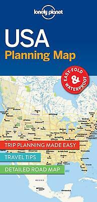 Lonely Planet USA Planning Map by Lonely Planet Free Shipping!