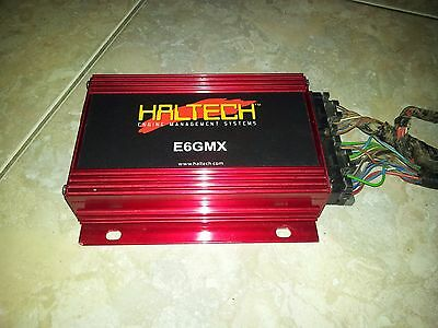 Haltech X6Gmx Ecu Ready For Use In Good Condition