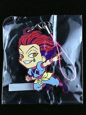 Hunter x Hunter Rubber Strap Key Chain official UTE Hisoka Morow 2 New