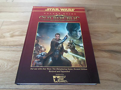 Star Wars The Old Republic Roleplaying Game Galaxy Guide (NEW)