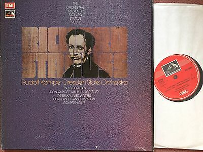 SLS 880 The Orchestral Music of Richard Strauss Vol. II / Rudolph Kempe 3 LP box