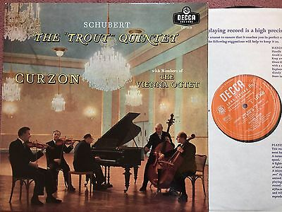 LXT 5433 – Shubert – The Trout Quintet – Curzon – Vienna Octet NM